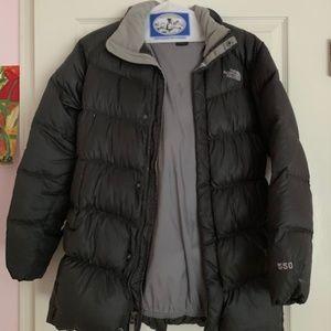 North Face Down Girl XL Dark grey Coat